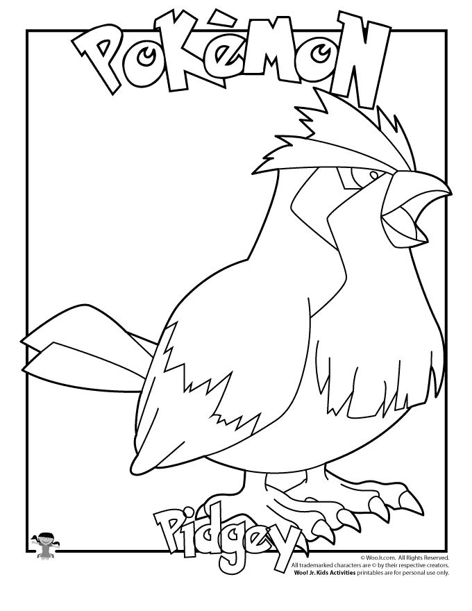 free pokemon christmas coloring pages - photo#40