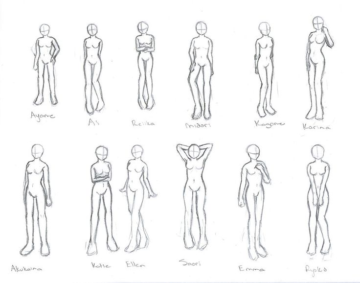 Anime Characters For Poser : Character poses by akushou on deviantart draw paint