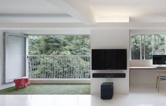 Inspirations the minimalist 5 room hdb singapore flats for Hdb balcony design