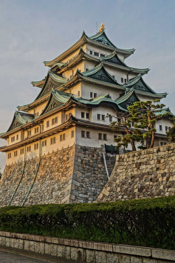 Nagoya Castle - one of the most important castle towns in Japan, and a major link between Edo/Tokyo and further south.  To this day, it is the main city in the Chubu (central) region - just like the Midlands in the UK and Mid West in the USA, it is the heartland of the automotive industry.
