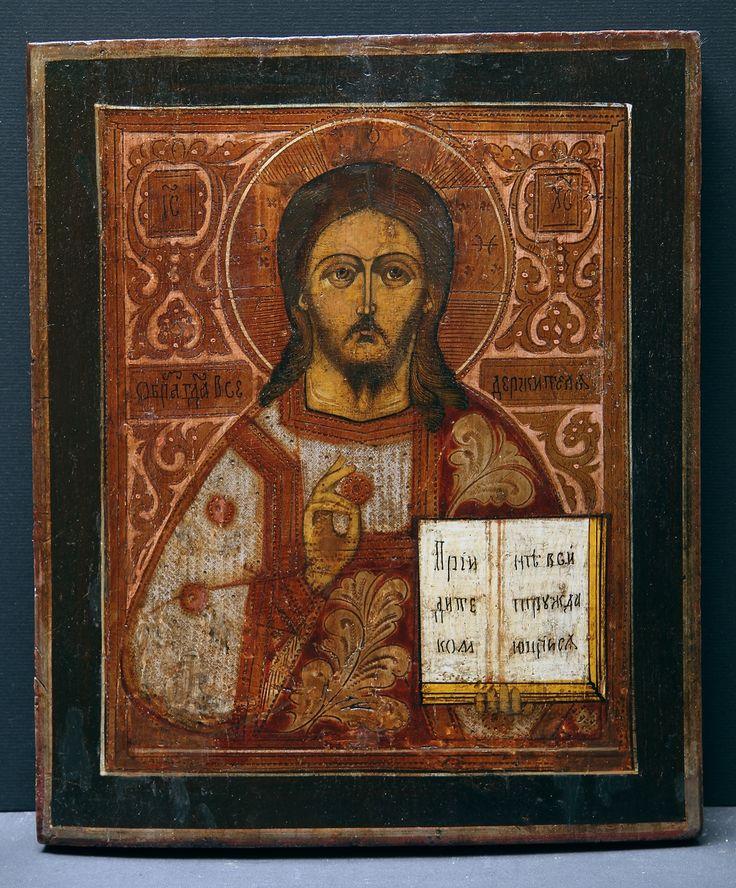 Christ Pantocrator. Age: late 19th Century