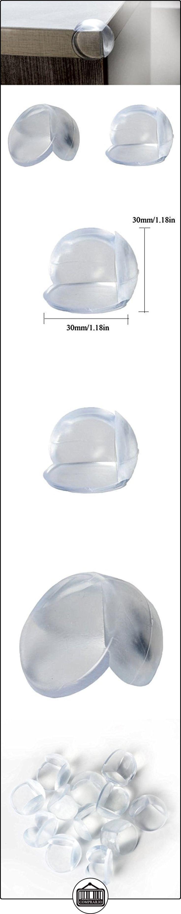 Andux Zone PAC KOF 12 protector de esquinas forma de la bola del bebé de seguridad para niños colchón borde de la mesa escritorio de guardia FZJ-01  ✿ Seguridad para tu bebé - (Protege a tus hijos) ✿ ▬► Ver oferta: http://comprar.io/goto/B01GHLXIPY