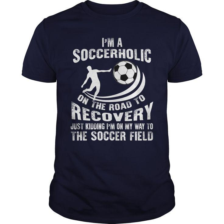 SOCCERHOLIC - soccer t shirts and hoodies