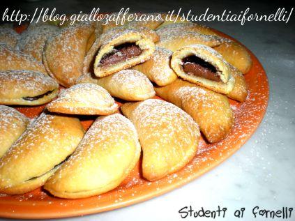 mezzelune con ricotta e nutella ricetta biscotti golosi