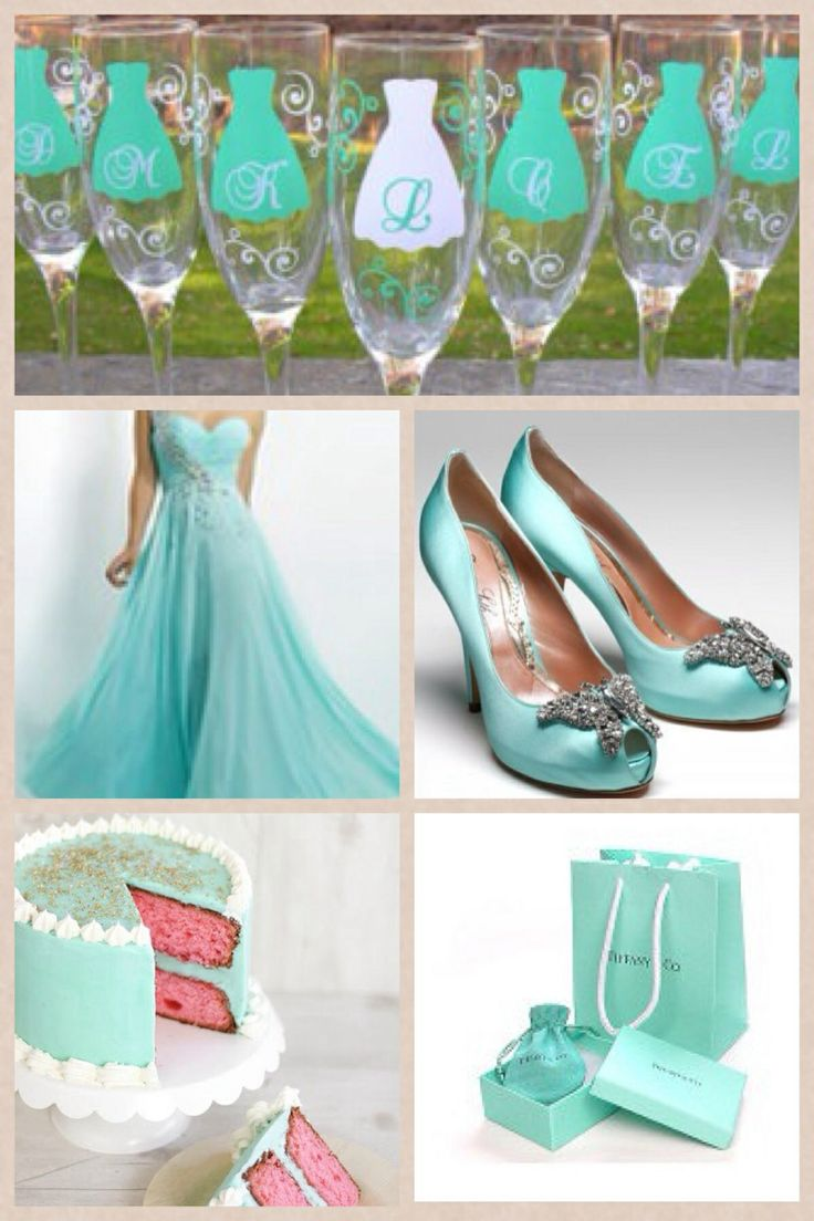 Tiffany Amp Co Themed Wedding Party Bachelorette Party