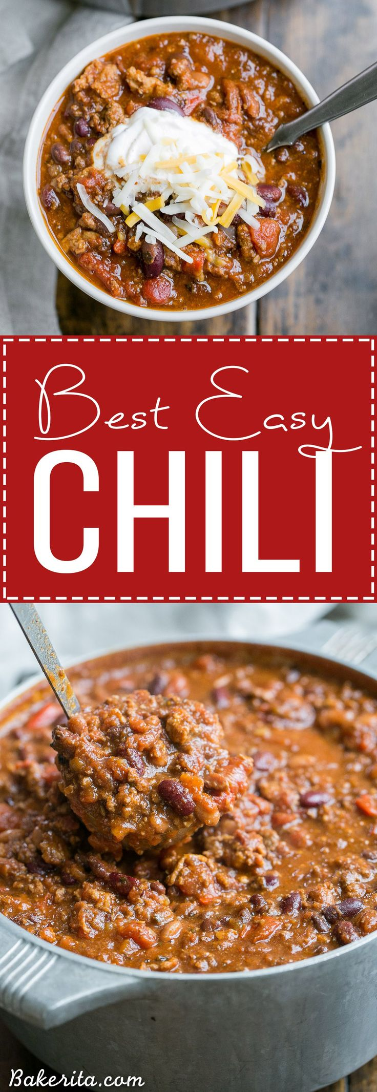 This recipe for My Best Chili is a major favorite around here! It's a hearty, warming chili made with ground beef, bacon, sausage, and just the right amount of kick.