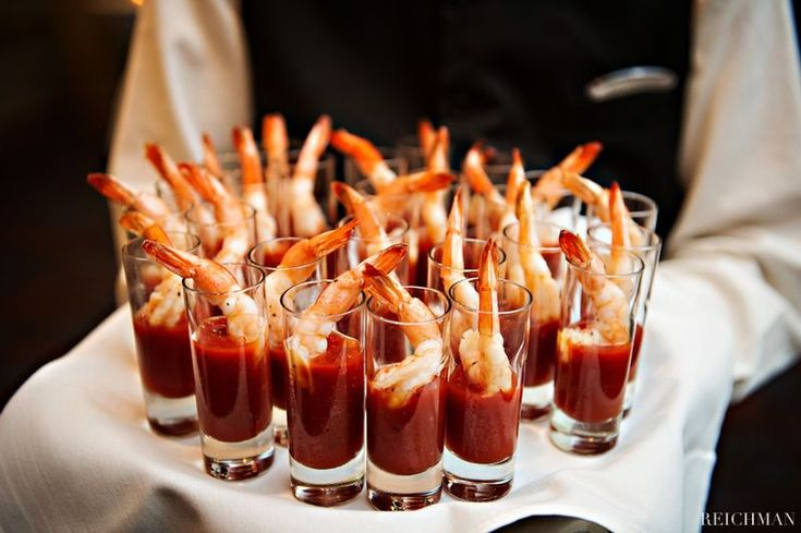 Guests love fun and festive finger foods like these at any reception or cocktail…