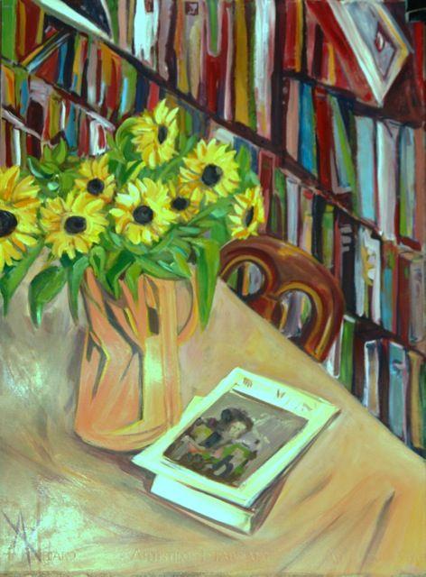 Anastasija Komarnyckyj ArtistHolidays Acrylic on paper 102 x 81cm (framed) $1000-