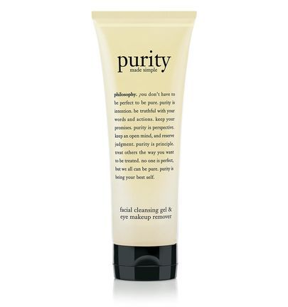 give skin a fresh start with purity made simple foaming 3-in-1 cleansing gel.