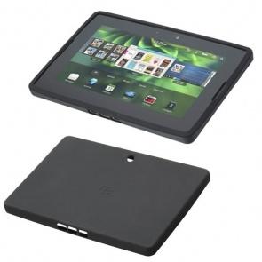 Husa BlackBerry ACC-39313-201 Silicone Skin Black pentru BB Playbook