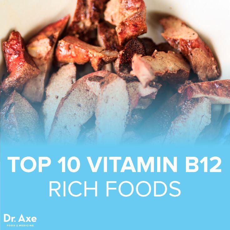 Top 10 Vitamin B12 Foods - DrAxe.com