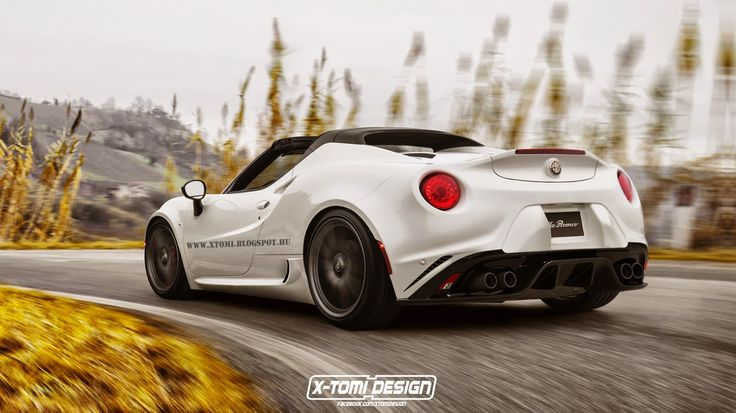 Alfa Romeo 4c Spider - https://www.pinterest.com/pin/855754366665261597