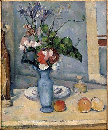 Le Vase bleu  -  Paul Cézanne (1839-1906)