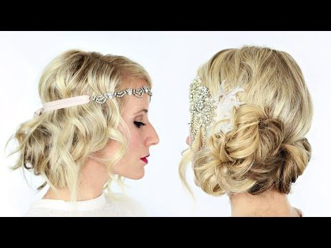 The Great Gatsby Inspired Hairstyle Tutorial - AllDayChic