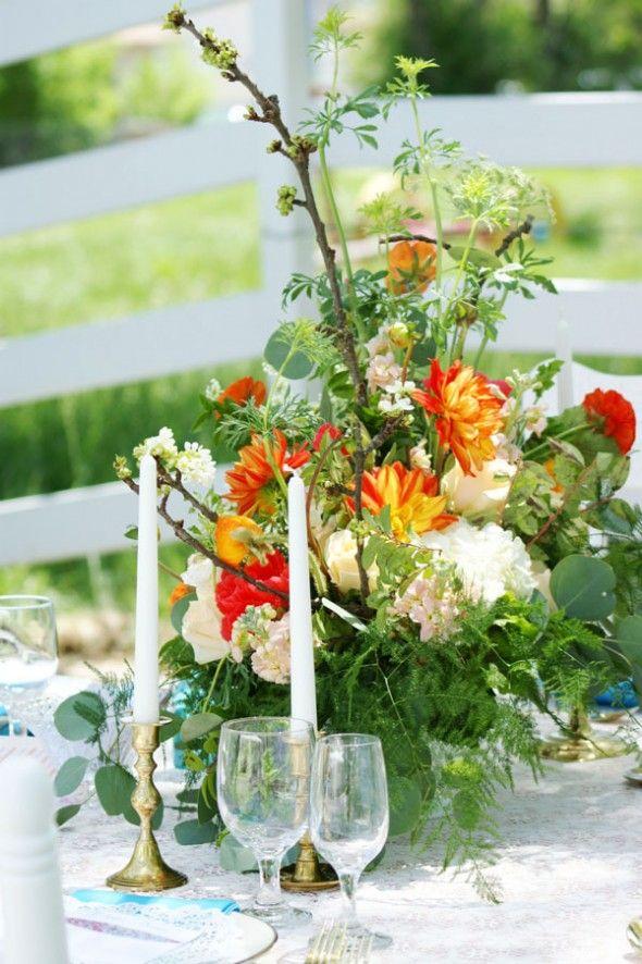 Vintage Wedding Inspiration -Rustic Wedding Chic