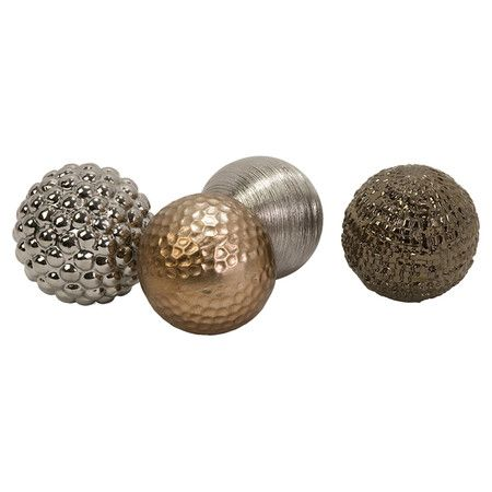 Metal Decorative Balls Amazing 23 Best Decorative Pieces Images On Pinterest  Decorative Accents Review