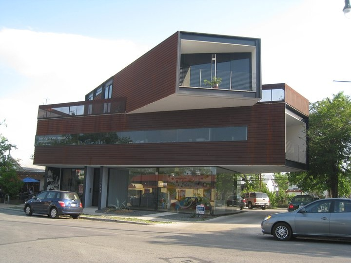 Take Heart Is Located In The Bercy Chen Building Next To The Blue Dahlia  Bistro And
