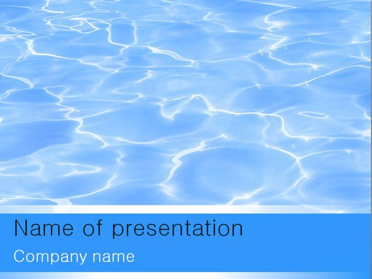 Water Resources Powerpoint Template  Templates    Water
