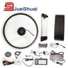 Best Seller 250W/350W/500W Electric Bike Kit 36V/48V Kettle Battery Samsung Cell Electric Bike Kit With LED LCD Display Optional