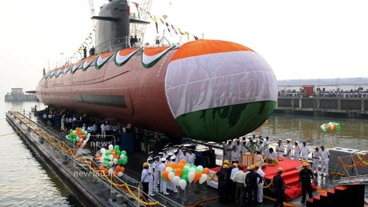 INS Kalvari commissioned into the Indian Navy