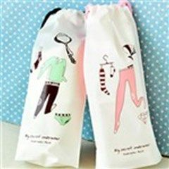 2pcs Storage Bag Pouch Buggy Bag f Underpants Underwear Stocking