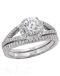 Martin Flyer Engagement And Wedding Ring Set
