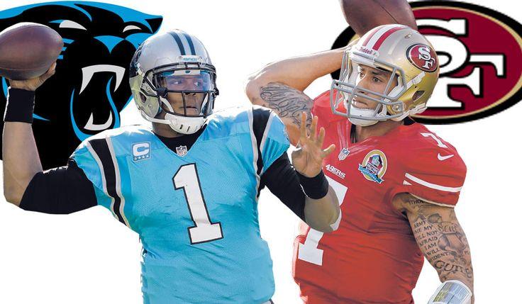 Cam Newton and Colin Kaepernick images | 49ers quarterback Colin Kaepernick formed bond with Cam Newton - San ...