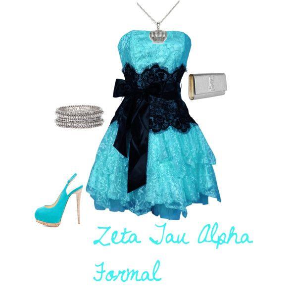 Zta crest black and white dresses