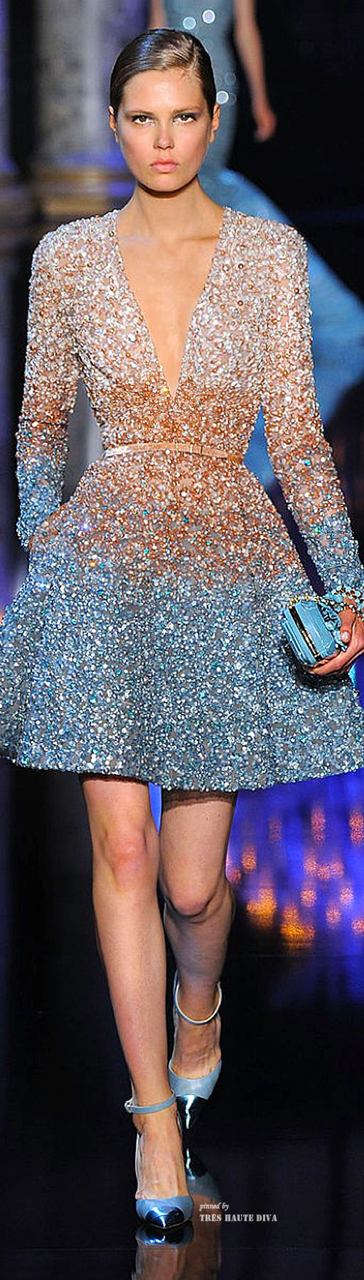 Sexy Cocktail dress: Elie Saab Haute Couture Fall 2014