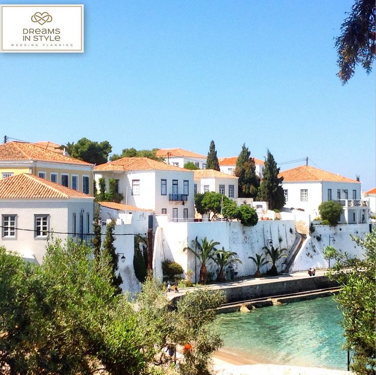 Beautiful view of the Old Harbor,  on the island of Spetses. #spetses #traditional #house #traditionalhouse #greekislands #beautiful #summer #greece #dreamsinstyle