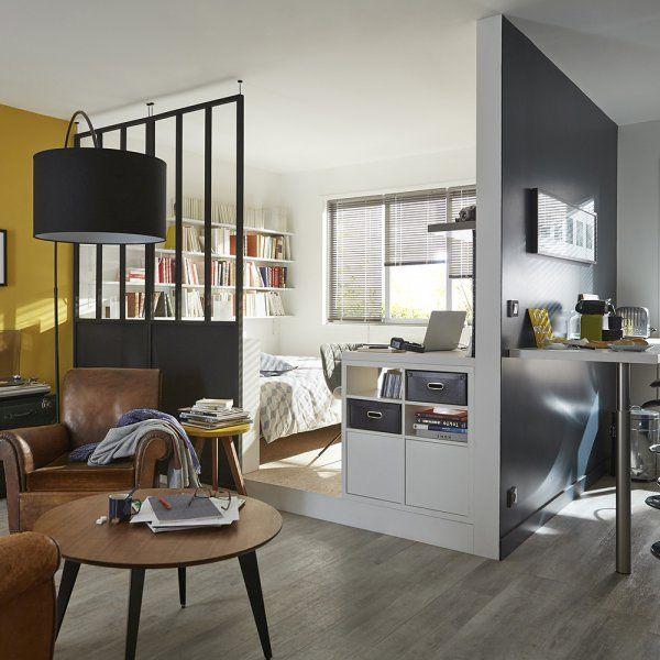 17 meilleures id es propos de petit studio sur pinterest petits studios - Idee deco studio 20m2 ...