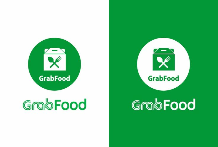 Grab Food Logo Vector Resolusi Gambar Resolusi Buku