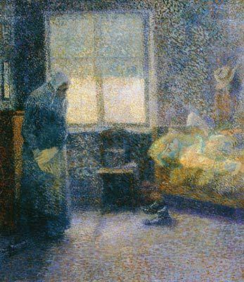 jan toorop peintre | Jan Toorop, Alcoholisme / Alcoholism - 1888