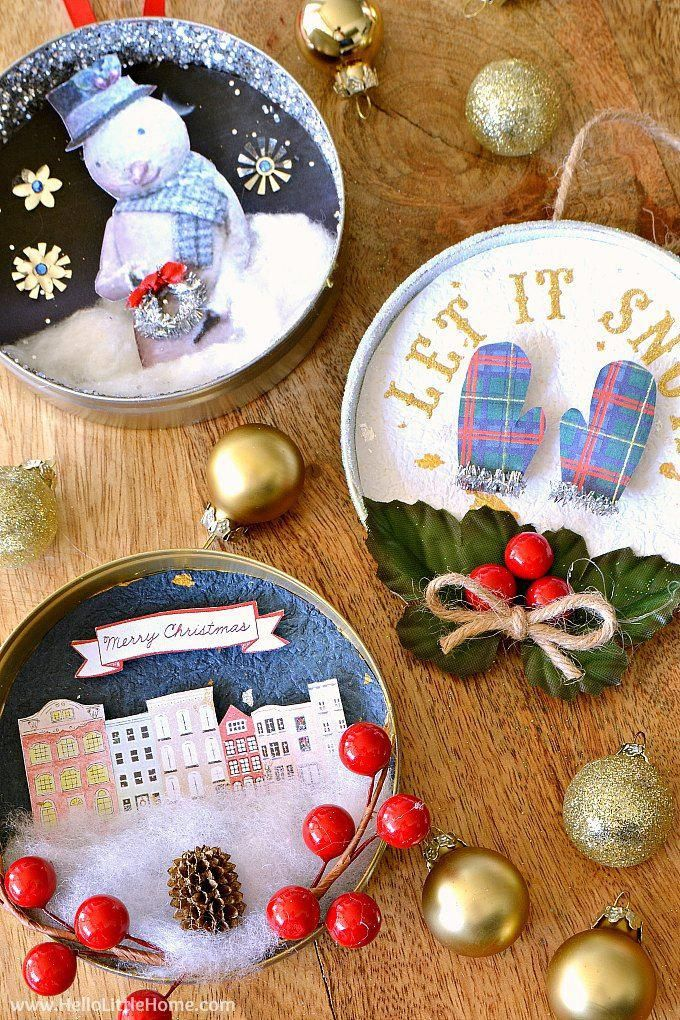 add a little personality to your tree with these unique diy vintage christmas ornaments these
