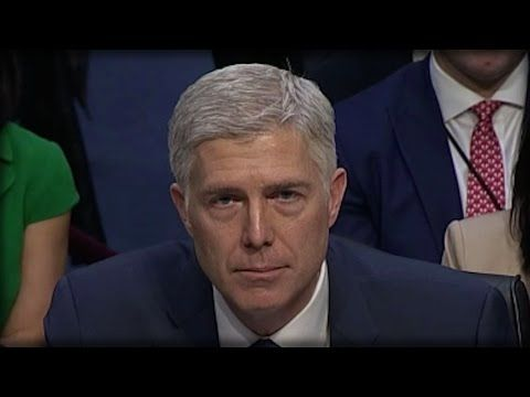 NEIL GORSUCH JUST SET THE SUPREME COURT ON FIRE TODAY! NO WONDER TRUMP PICKED HIM… - YouTube