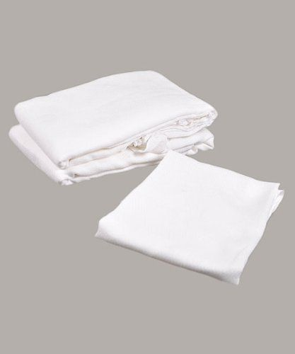 """Flat-Folded Cloth Diapers by BigOshi - one color, one size by Big Oshi. Save 7 Off!. $12.99. These Birdseye weaved cloth diapers are made from strong lasting 100% cotton and are the ultimate in baby diapers! Can be used as: A burp cloth A baby wipe A wash cloth A changing pad 12 Pack Can be washed and reused many times! 27"""" x 27"""""""