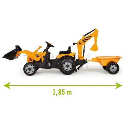 SMOBY Traktor Max z przyczepą i koparką opłata za transport: 15zł/1szt.