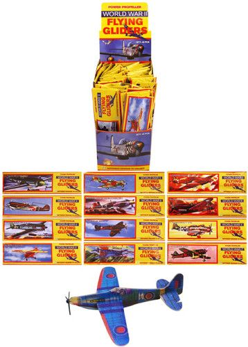12 Flying Glider Planes Party Bag Fillers / Childrens Toys / Game Prizes | eBay
