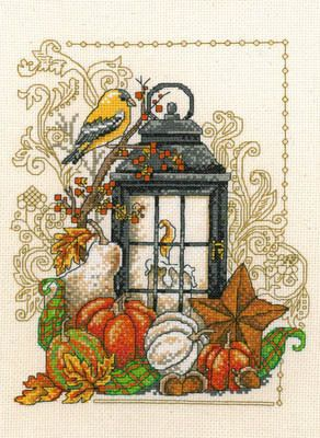 fall cross stitch