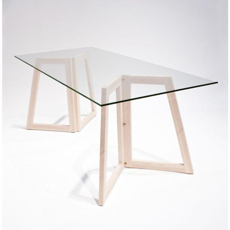 1000 id es sur le th me tr teaux sur pinterest tr teaux - Pied en bois pour table ...