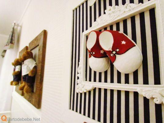 decoracao parede quarto bebe