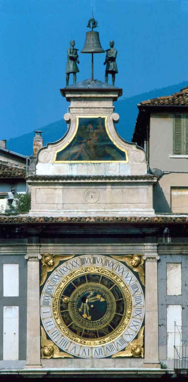 Orologio Piazza Loggia, Brescia, Italy