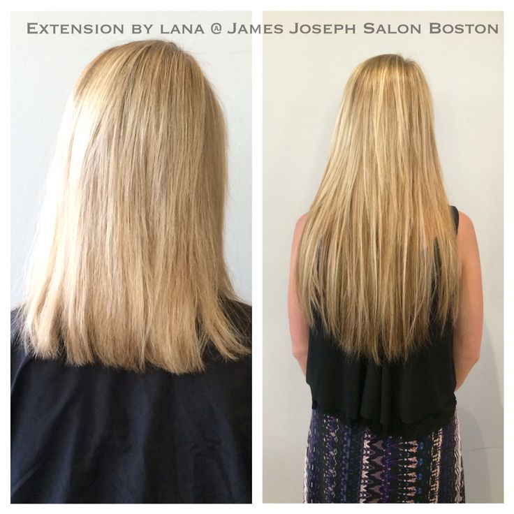 7 best hair extensions before and afters images on pinterest bonded extensions by lana james joseph salon newbury st boston pmusecretfo Image collections