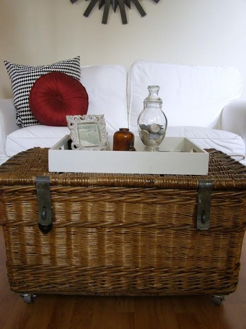 best 25+ wicker coffee table ideas on pinterest | couch ottoman