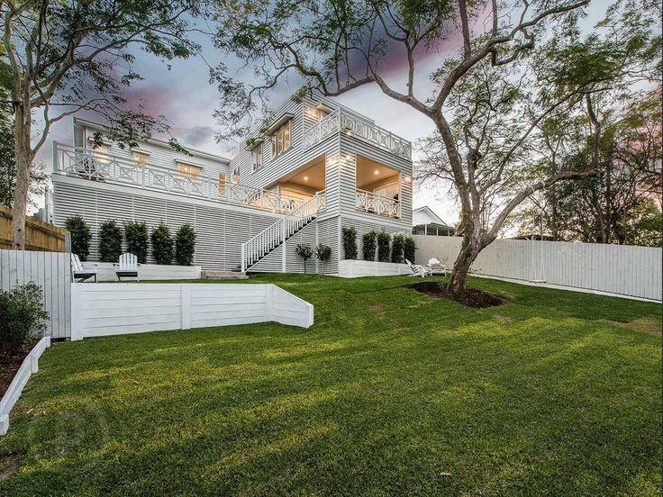Hamptons-style Brisbane house exterior