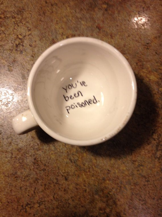 hilarious. I want to put this on the guest cup. So when they finish they won't know it's there