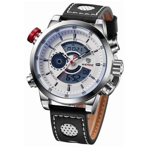 Men's Quartz Digital Watches via Polyvore featuring men's fashion, men's jewelry, men's watches, mens watches jewelry, mens digital watch, mens watches и mens quartz watches