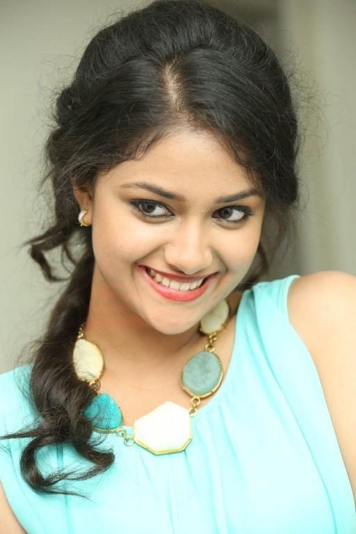 Keerthi Suresh Smiling Photo