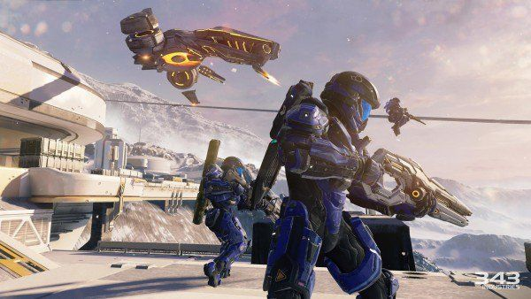 The Halo 5: Guardians cinematic trailer promises full bore action like never before