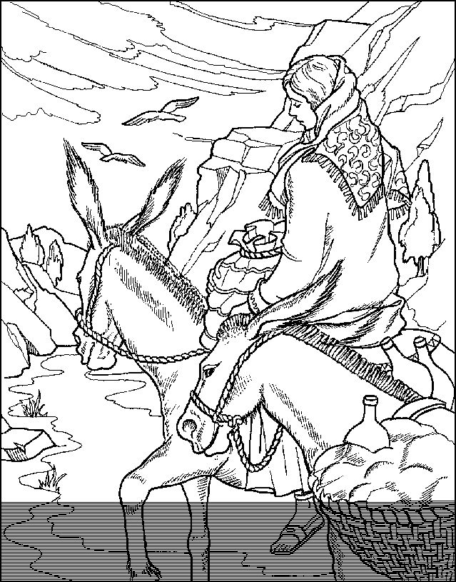 Abigail Abda Sunday School Coloring Pages Bible Coloring